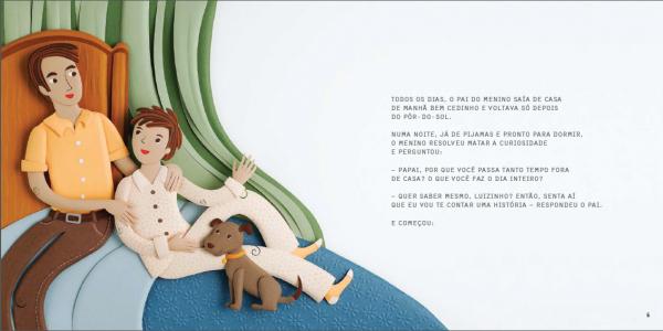 Livro criado pela CRAMA para o Dia das Crianças